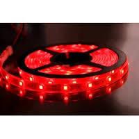 Светодиодная лента (Led) влагостойкая 5050-60-65R 72W Luxel красный (5м)
