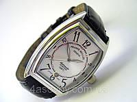 Мужские классические часы FRANCK MULLER N508 серебристый циферблат, механика с автозаводом, цвет платина, фото 1