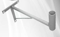 Кронштейн Т-образный Серый 300 (вынос 30см)