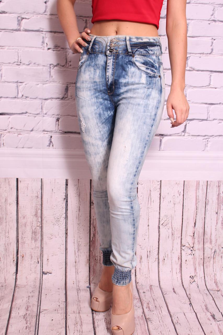 Женские джинсы Anule с манжетами (VA104)