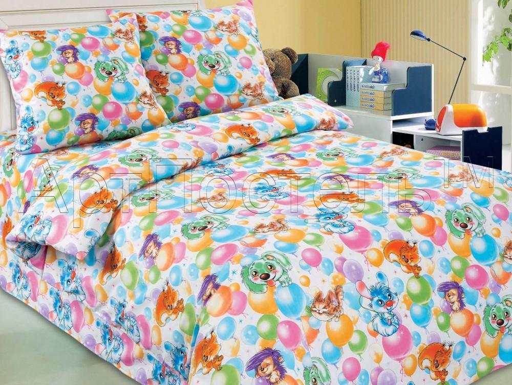 Постельное белье Праздник поплин ТМ Комфорт текстиль (в детскую кроватку)
