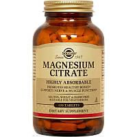 Solgar Magnesium Citrate, Цитрат магния, 120 таблеток, магний