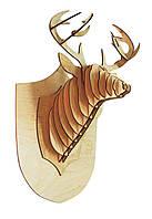 """Голова оленя"" на стену, дерево"