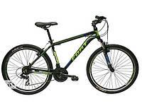 Велосипед горный Fort  Discovery 26 » Alioy черно -  зелено - синий 2016(матовый)