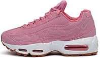 Женские кроссовки Nike Air Max 95 Pink Oxford (найк аир макс 95) розовые