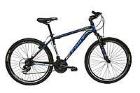 Велосипед горный Fort  Discovery 26 » Alioy черно-голубой 2016(матовый)
