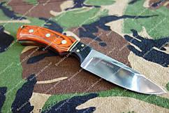 Нескладной нож  ,деревянная рукоять , чехол  отлично сидит в руке