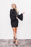 Женское облегающее короткое платье в двух цветах. Размер см,мл. Материал дайвинг.