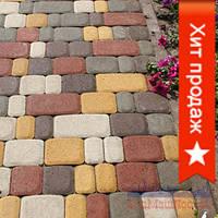 Плитка тротуарная «Старый Город» 25, 40, 60, 80 мм