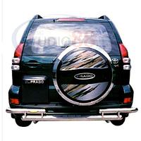 Защитная дуга заднего бампера для (Тойота Ленд Крузер Прадо) Land Cruiser PRADO 120 (2003 - 2008)