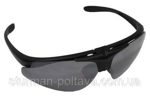 Очки тактические HAWK (Ястреб) с диоптриями на 3 стекла MFH Германия