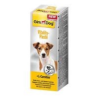 GimDog Vitality Paste витаминная паста для здорового сердца и мышечной ткани собак, 50г