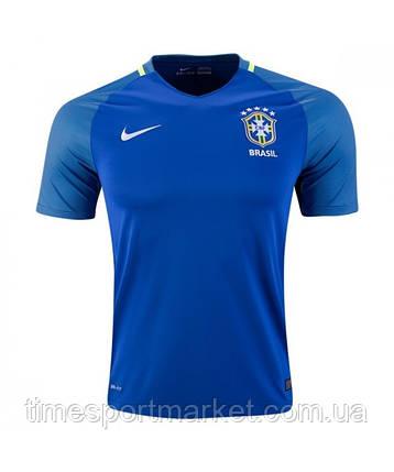 Форма сборной Бразилии Выездная 2016, фото 2