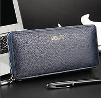 Клатч портмоне Baellerry S1382bl темно-синий