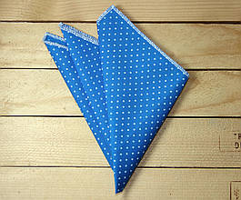 Платок нагрудный I&M Craft голубой (011113P)