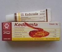 Крем Kedermfa для удаления зуда, ожогов, кожных трещин, хронической экземы, микоз, акне, предотвращает атероск