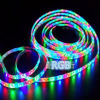 Светодиодная лента (Led) влагостойкая 5050-60-65RGB 72W Luxel разноцветная (5м)