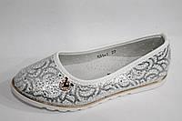 Детские туфельки для девочек оптом от фирмы Yalike 531-1 белый (8пар, 27-32)
