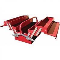 ✅ Ящик для инструмента 5 секций 495(L)x200(W)x290(H)mm TORIN TBC122B