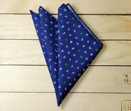 Платок нагрудный I&M Craft синий (011119P), фото 2
