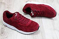 Мужские кроссовки в стиле Puma бордо