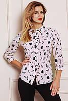 Красивая молодежная блуза с оригинальным принтом