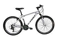 Велосипед горный Fort  Discovery 26 » Alioy бело -черный 2016(матовый)