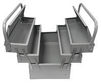 Ящик металлический 550мм, 7 отделений Mastertool 79-5507
