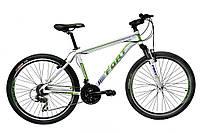Велосипед горный Fort  Discovery 26 » Alioy  бело -зеленый 2016(матовый)