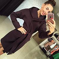 """Женское стильное демисезонное пальто """"Max Mara"""" (3 цвета), фото 1"""