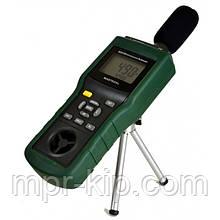 Mastech MS6300 5 в 1: шумомір, анемометр, термометр, люксметр і гігрометр