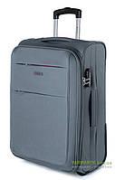 Дорожный чемодан из полиэстера на 2-х колесах (большой) Puccini Camerino 5704 серого цвета