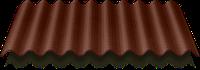 ONDULINE Ондулин коричневый (2*0,95 м)