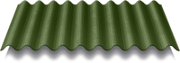 ONDULINE Ондулин зеленый (2*0,95 м) (Харьков,Киев - самовывоз)
