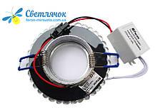 Світильник вбудований з LED підсвічуванням Feron 7314 під лампу Mr16, фото 2