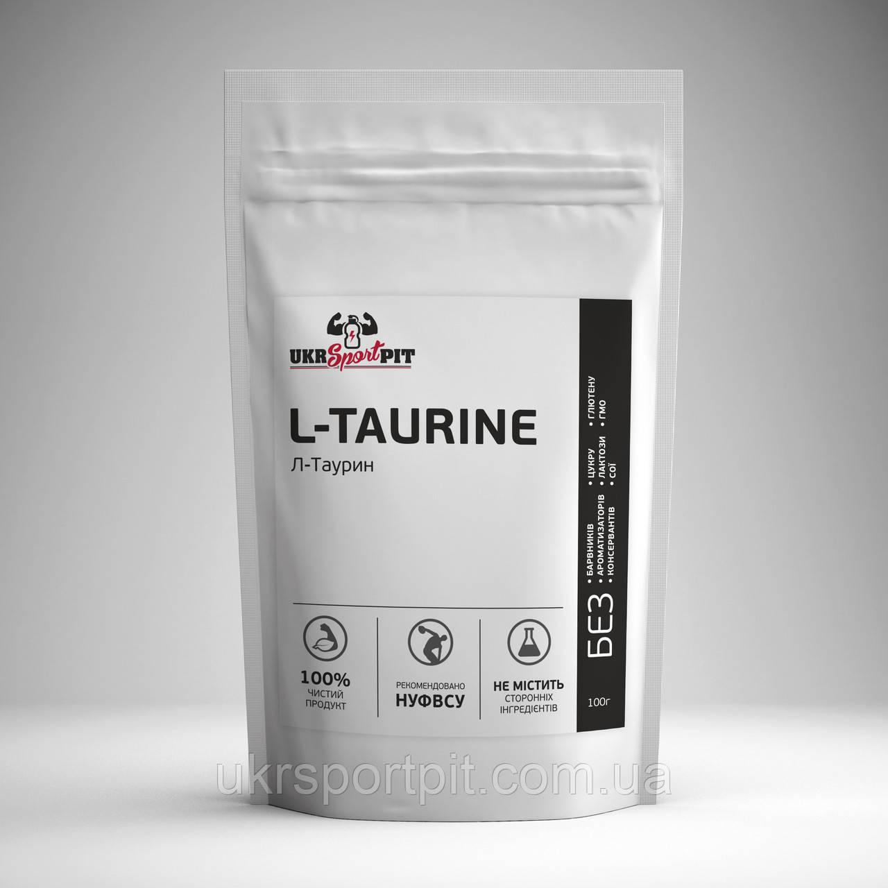 L-Taurine (Л-Таурин) 100 г - UkrSportPit - Спортивное Питание На Развес  в Киеве