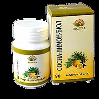 Сосна-лимон-биол при бронхите