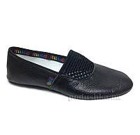 Чешки кожаные Pellagio 036/01 черные 22