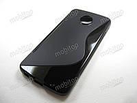 Полимерный TPU чехол Motorola Moto Z Play XT1635 (черный), фото 1