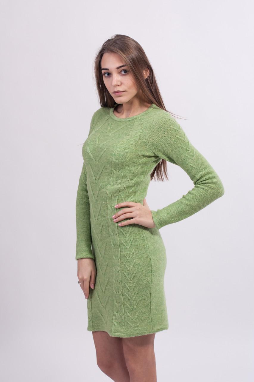 Вязаное платье 6 цветов (44, 46 размеры)