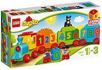 Конструктор LEGO DUPLO Поезд Считай и играй 23 детали (10847)