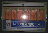 Штифты гуттаперчивые Aceone-Endo 06, №15