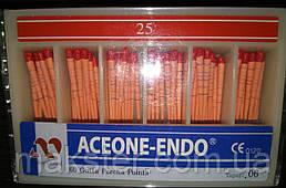 Штифты гуттаперчивые Aceone-Endo 06, №25