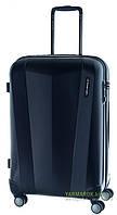 Дорожный чемодан из поликарбоната на 4-х колесах (средний) March Vision 3322 синего цвета