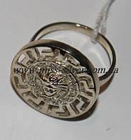 Кольцо Версаче серебро