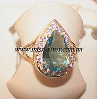 Кольцо серебряное Хюррем Султан, фото 1