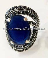 Кольцо серебряное Шикк, фото 1