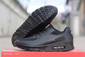 Подростковые кроссовки Nike air max ,черные , фото 2