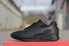 Подростковые кроссовки Nike air max ,черные , фото 3