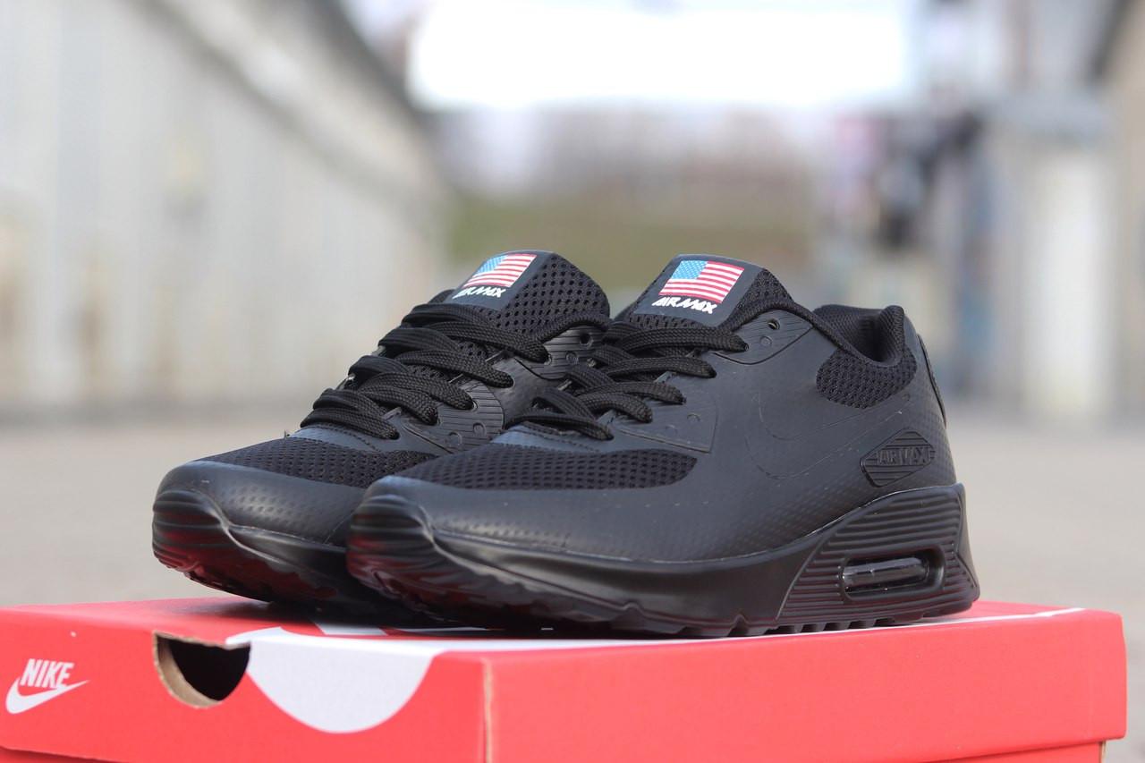 Подростковые кроссовки Nike air max ,черные